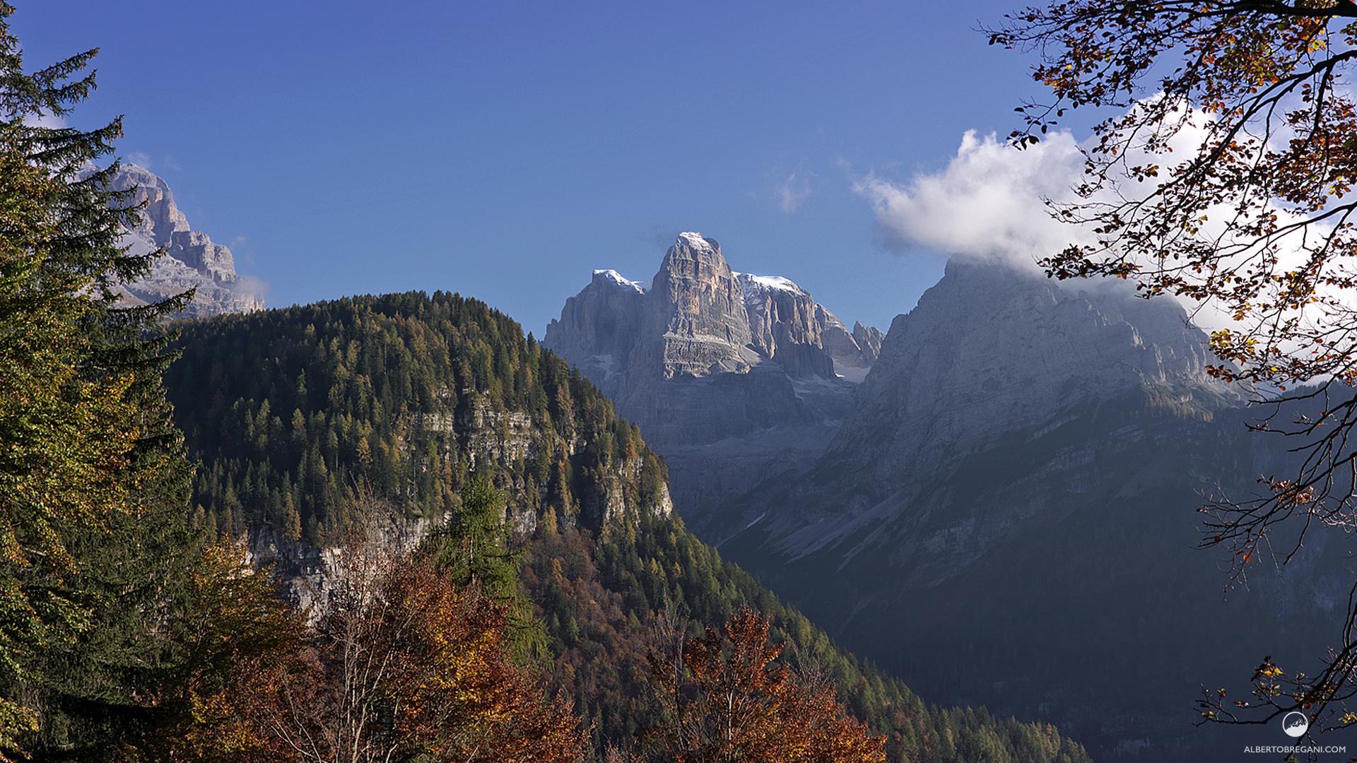 Sfondi di montagna colore alberto bregani for Sfondi desktop inverno montagna